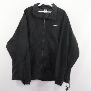 90s Nike Mens Large Big Swoosh Windbreaker Jacket